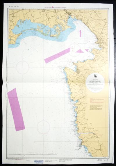 Kroatische Seekarten